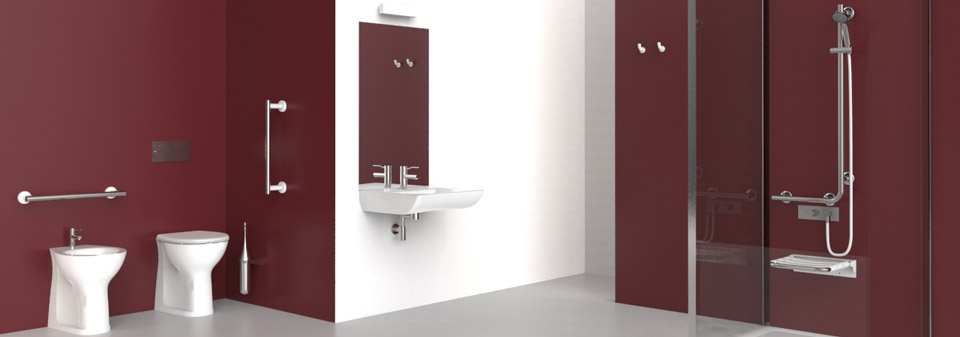 Porte Interne Bagni Disabili Bagno Disabili Piantina Bilocale