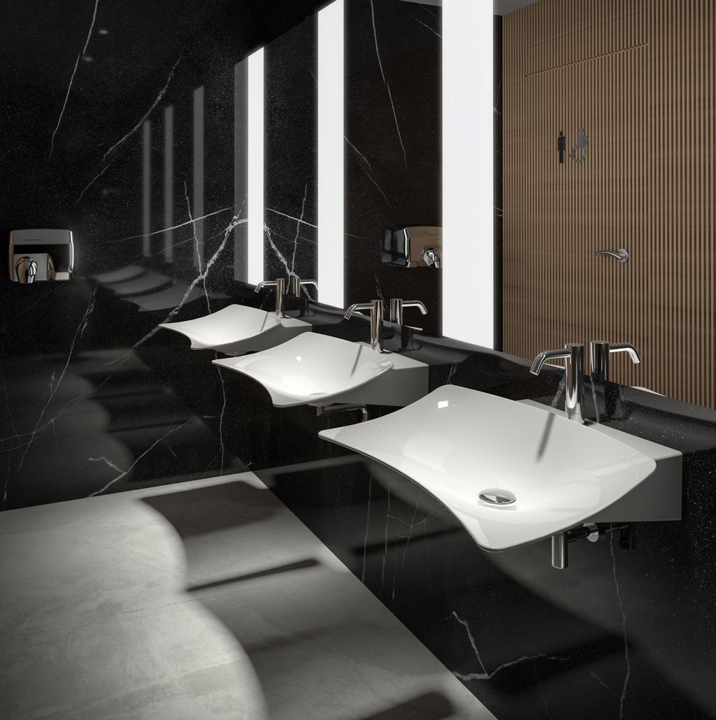 wall hung wash basin Shine