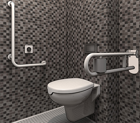 Accessible bathrooms' design