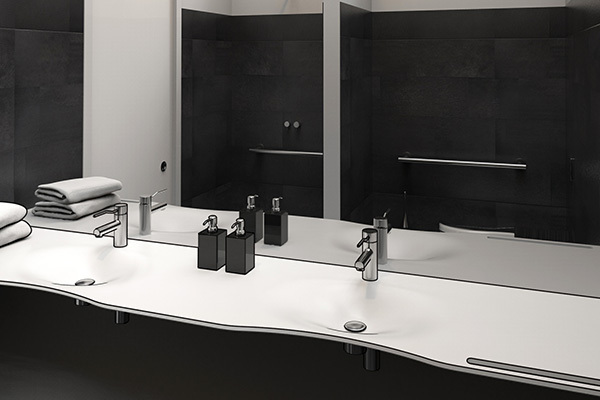 Bathrooms for hospitals