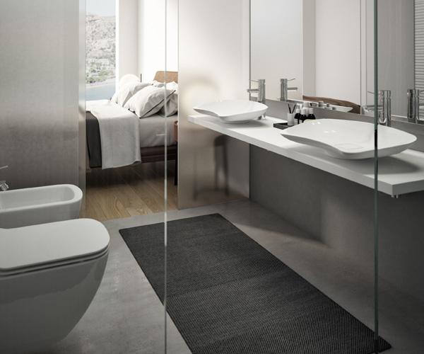 Progettazione bagni accessibili per camere Hotel