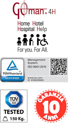 Certified Bathrooms and accessories for public facilities