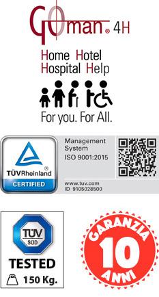 Bagni e accessori bagni per RSA certificati