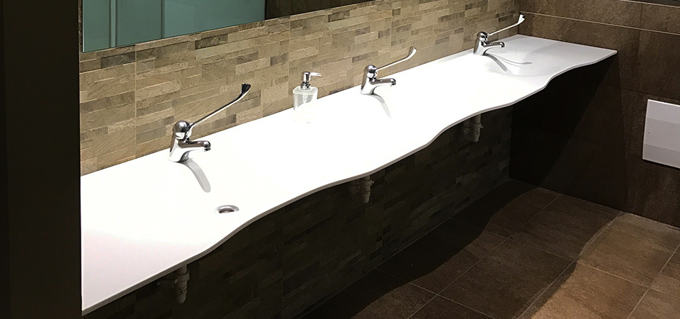 Design and production of bathrooms for public facilities