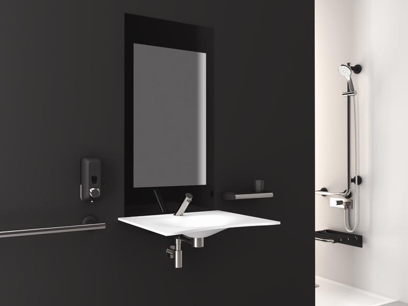 badezimmer f r senioren haltegriffe sitzm bel armaturen goman. Black Bedroom Furniture Sets. Home Design Ideas