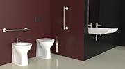 Salle de bains pour personnes g es goman - Cabine de douche pour personne agee ...
