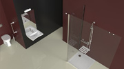 Design bathrooms for the elderly Goman
