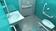 Vasca bagno per disabili