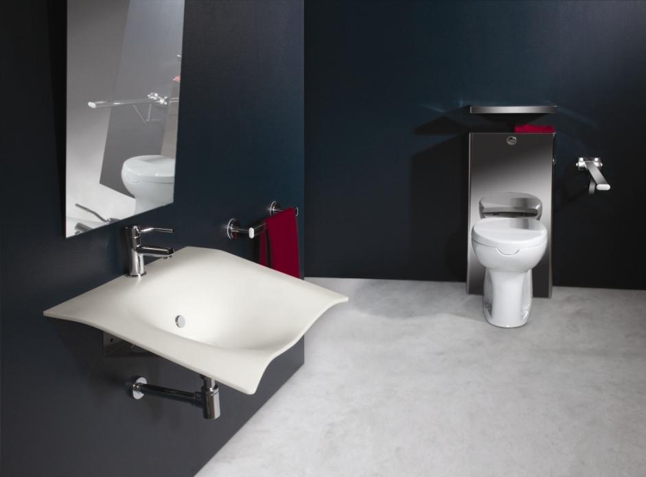 Lavabo universale flight goman - Accessori bagno disabili ...