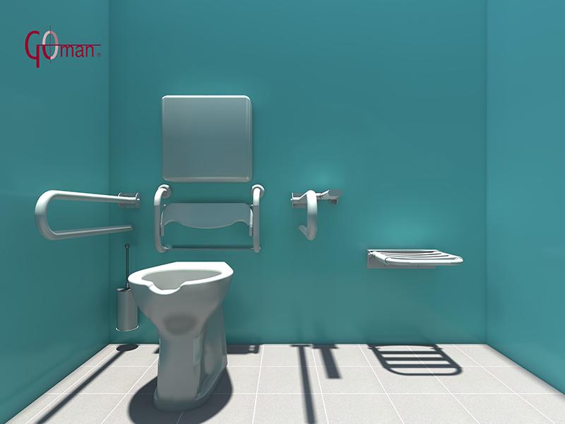 Accessori bagno 3d dwg progettazione dwg bagni disabili disegni in d marvellous design bagni - Accessori bagno disabili ...