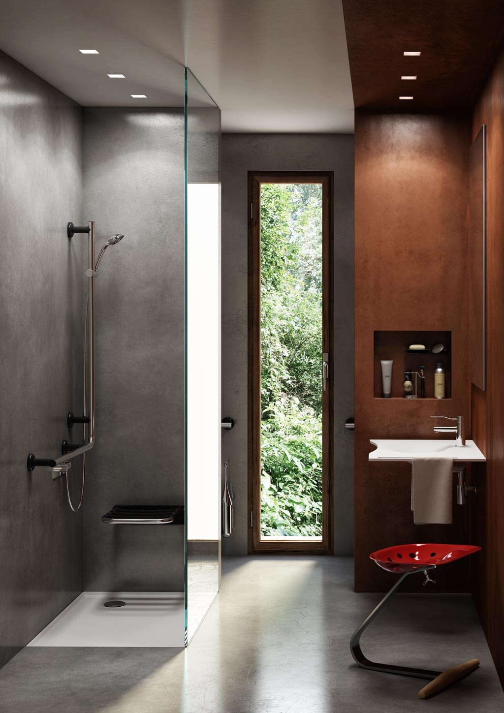 Bagno design contemporary radical