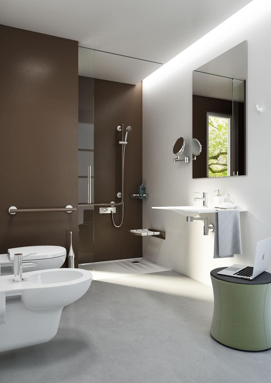 Bagno elegante comfort e di design goman srl for Immagini design