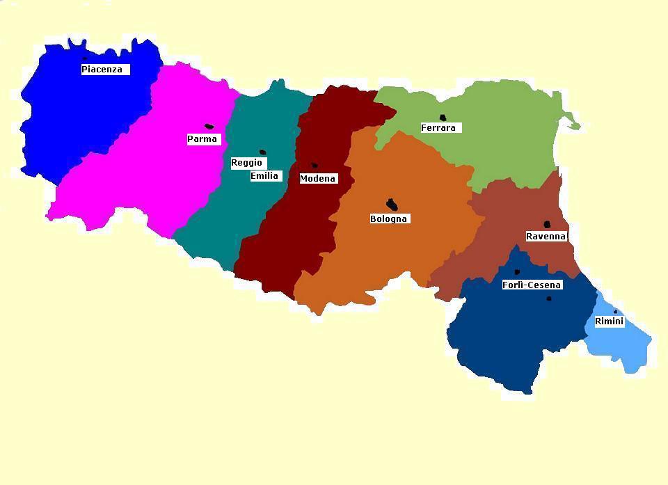 Province Emilia Romagna Cartina Politica.Agenti Vendita Accessori Bagni Disabili Emilia Romagna Goman