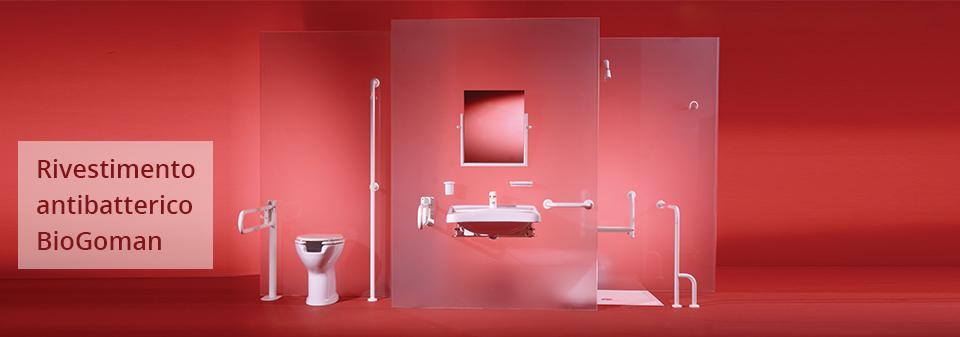 Ausili per il bagno antibatterico