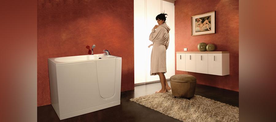 bath thubs with door